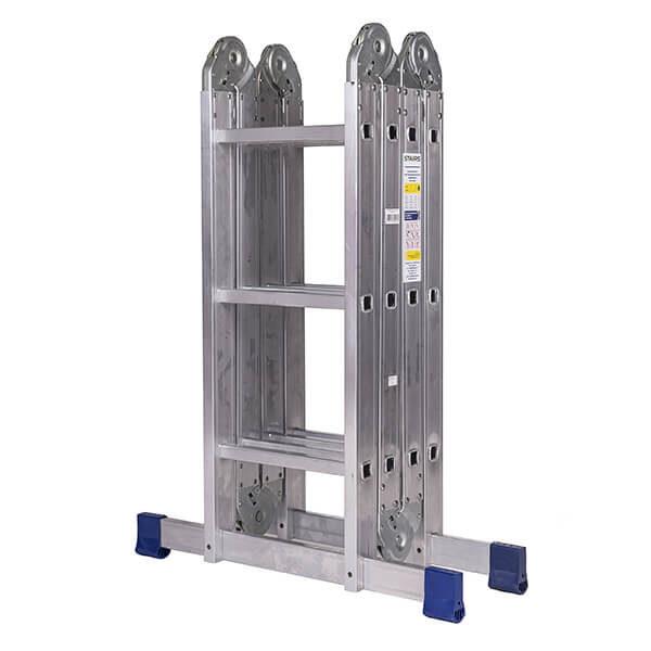 Лестница алюминиевая трансформер 4х3 ступени