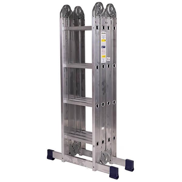 Лестница алюминиевая трансформер 4х4 ступени