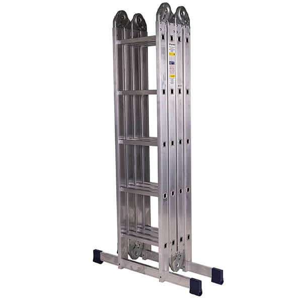 Лестница алюминиевая трансформер 4х5 ступени