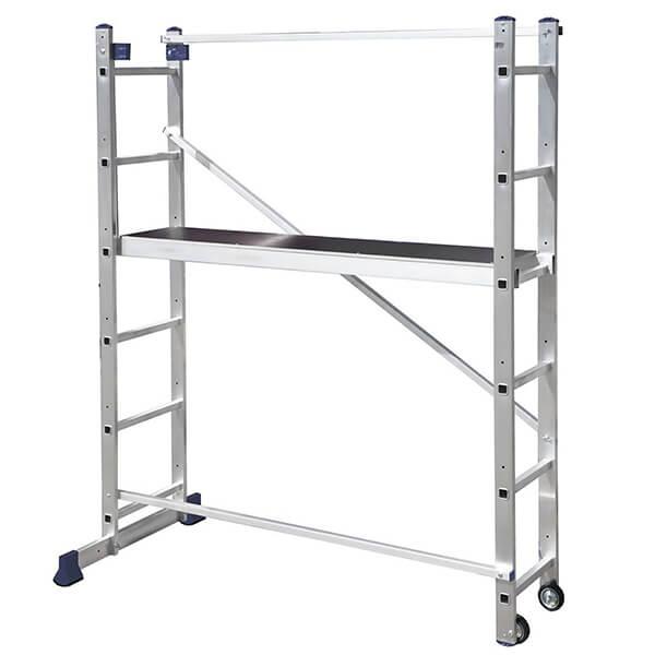 Лестница помост универсальная алюминиевая