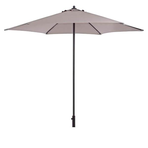 Зонт с центральной стойкой Верона, серый, 2,7 м