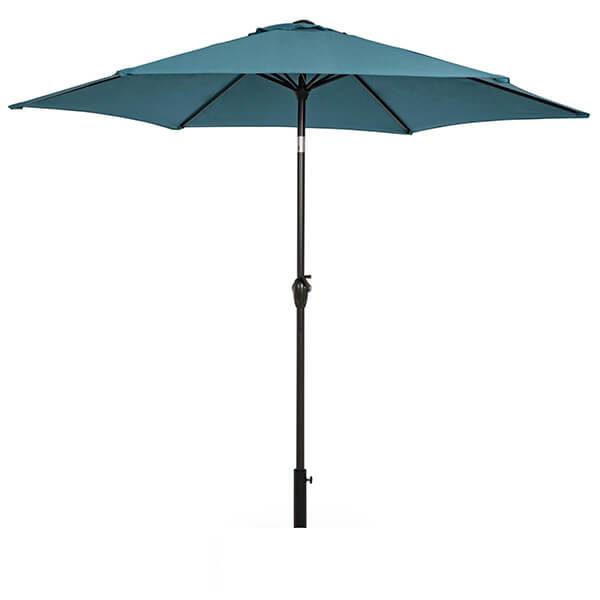 Зонт с центральной стойкой Салерно, бирюзовый, 2,7 м