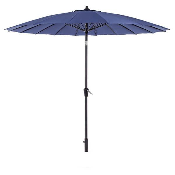 Зонт с центральной стойкой Атланта, синий, 2,7 м