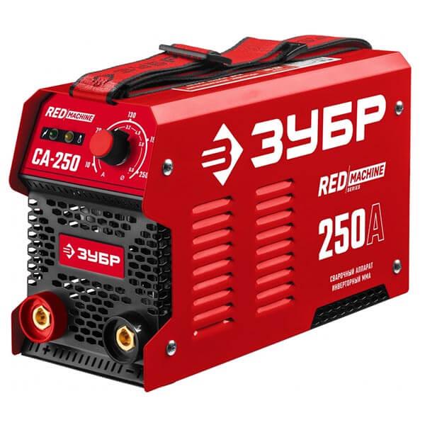 Инвертор ЗУБР MMA RED Machine 250А СА-250 (220 B)