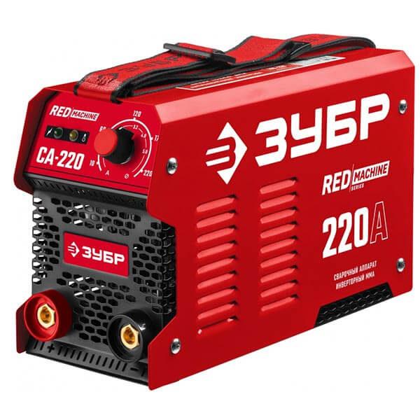 Инвертор ЗУБР MMA RED Machine 220А СА-220 (220 B)