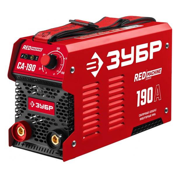 Инвертор ЗУБР MMA RED Machine 190А СА-190 (220 B)