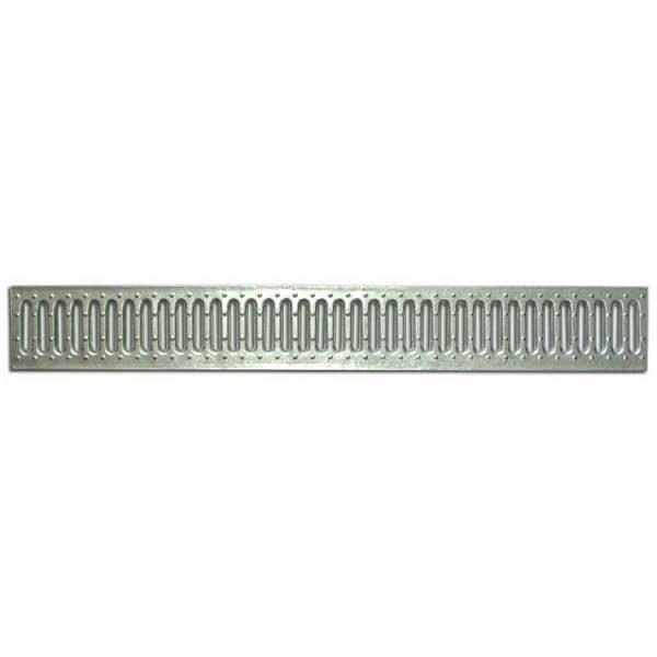 Решетка водоприемная Standart 100 стальная штампованная (оцинкованная)