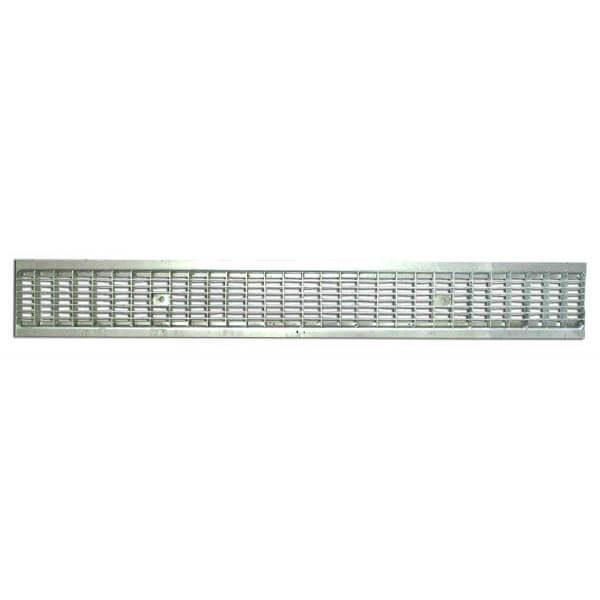 Решетка водоприемная Standart 100 ячеистая стальная (оцинкованная)