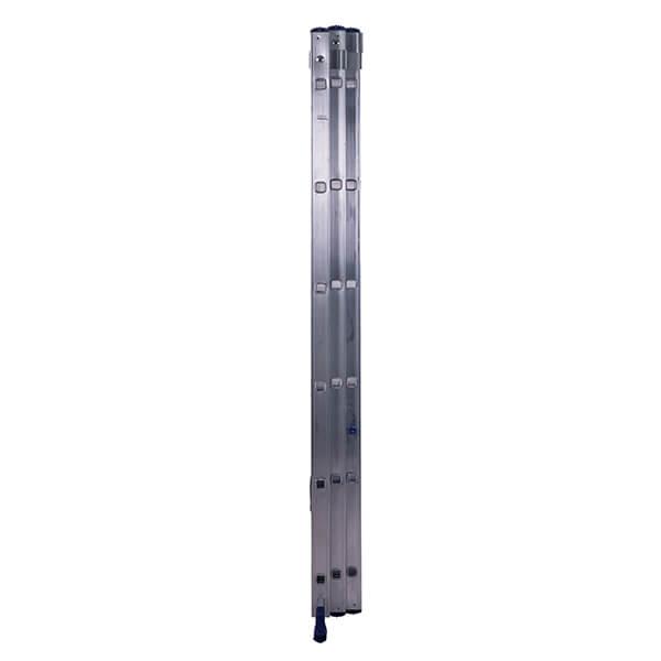 Лестница алюминиевая трехсекционная универсальная усиленная 16 ступеней