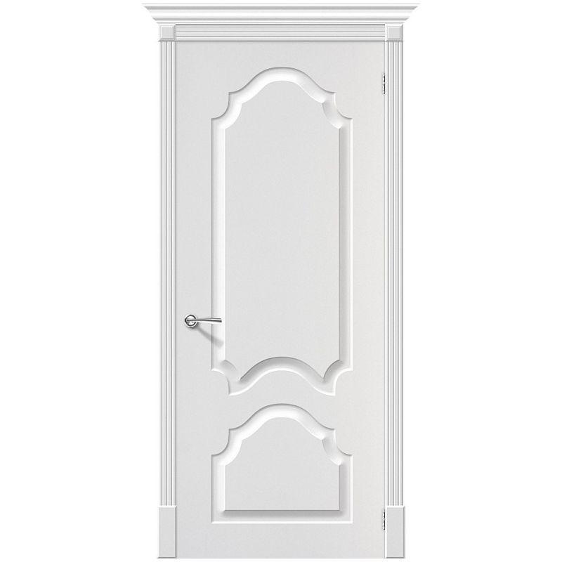 Межкомнатная дверь Скинни-32, П-24 (Белый)