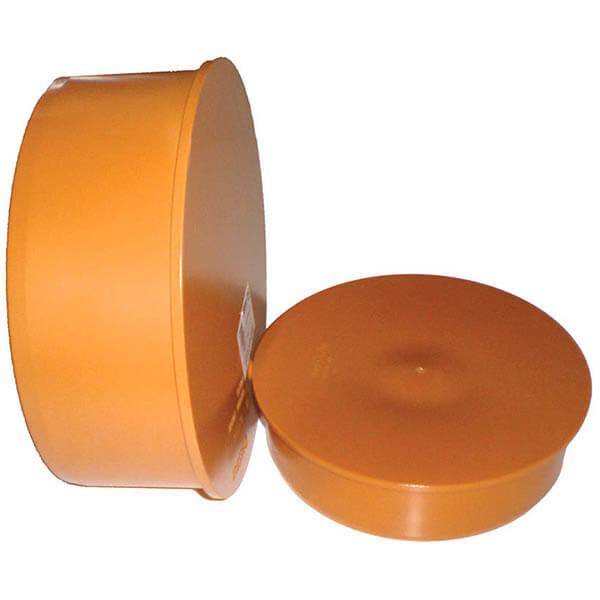 Заглушка для трубы наружной канализации 160 мм