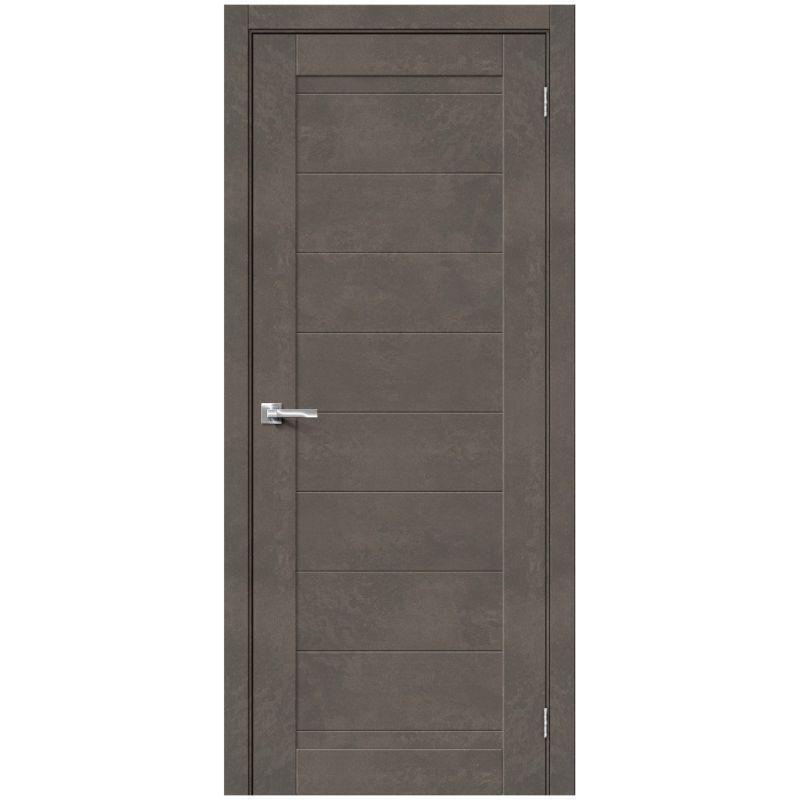Межкомнатная дверь Браво-21, Brut Beton