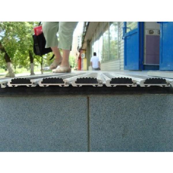 Грязезащитная решетка без приямка накладного типа