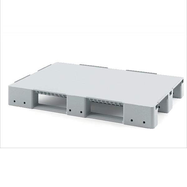 Паллет сплошной 1200х800х150 мм для стеллажного хранения (без усиления)