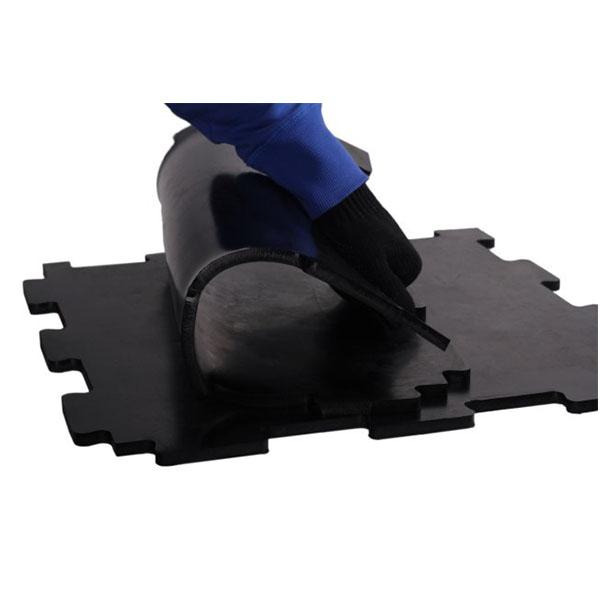 Резиновая модульная плитка Табулат-10 500x500x10