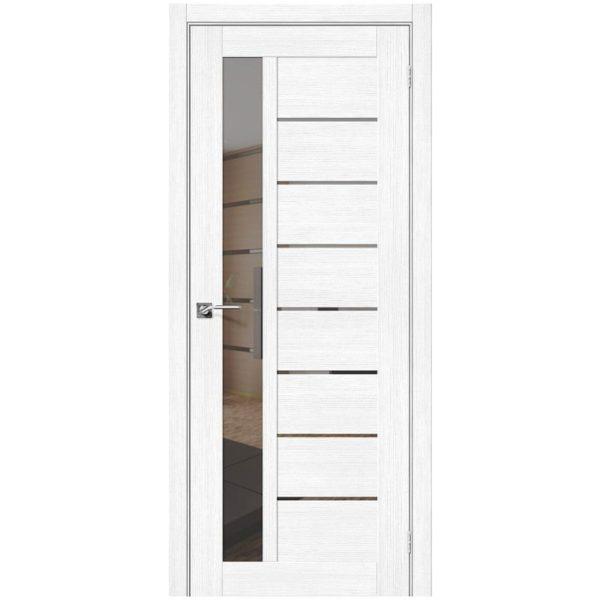 Межкомнатная дверь Порта-27, Snow Veralinga, Mirox Grey