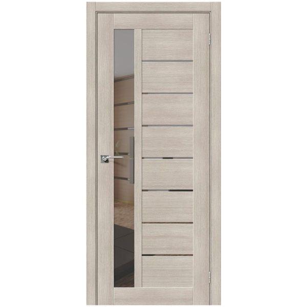 Межкомнатная дверь Порта-27, Cappuccino Veralinga, Mirox Grey