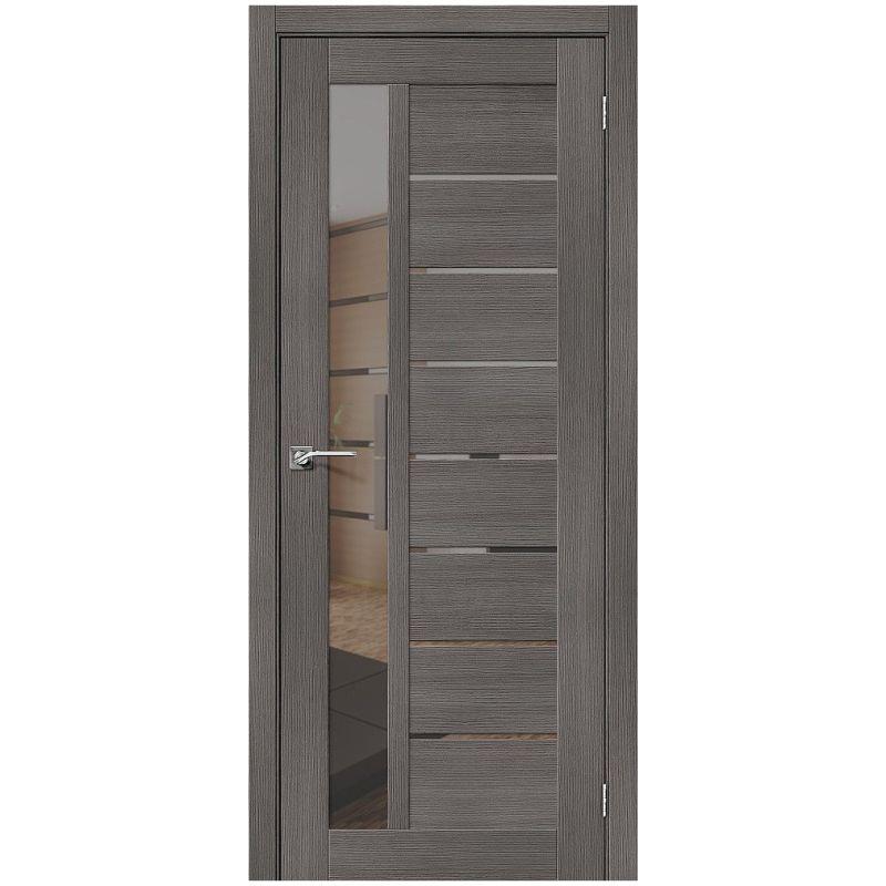 Межкомнатная дверь Порта-27, Grey Veralinga, Mirox Grey