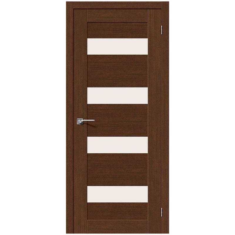 Межкомнатная дверь Легно-23, Brown Oak, Magic Fog