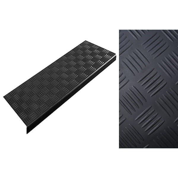 Накладка на ступени резиновая антискользящая 750x250x3 мм, крестики