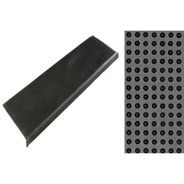 Накладка на ступени резиновая антискользящая 750x250x3 мм, классик