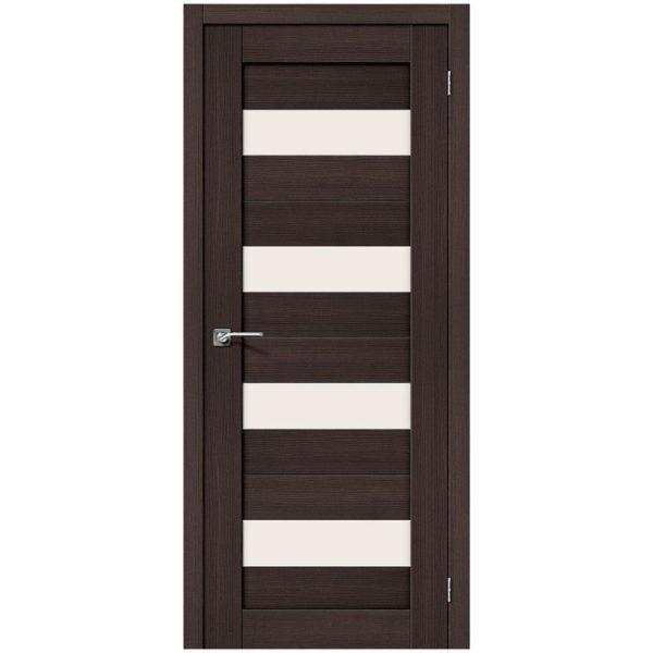 Межкомнатная дверь Порта-23, Wenge Veralinga, Magic Fog