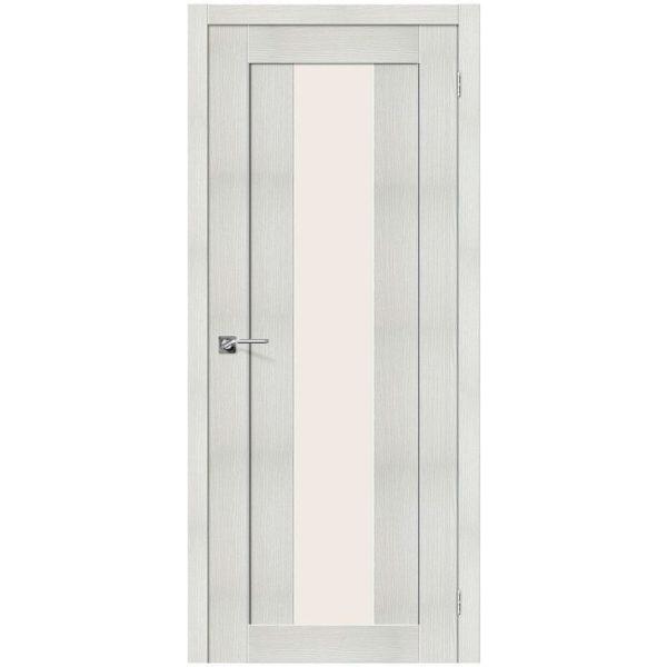 Межкомнатная дверь Порта-25 alu, Bianco Veralinga, Magic Fog