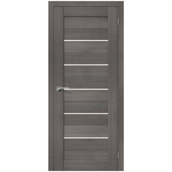 Межкомнатная дверь Порта-22, Grey Veralinga, Magic Fog