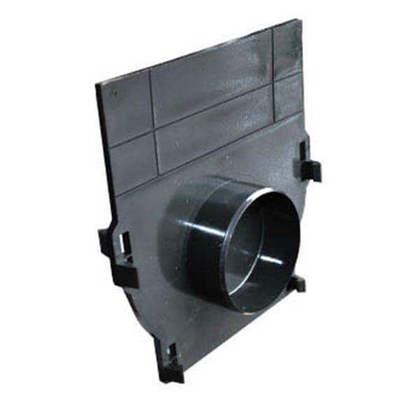 Торцевая заглушка для пластиковых лотков Standart 100
