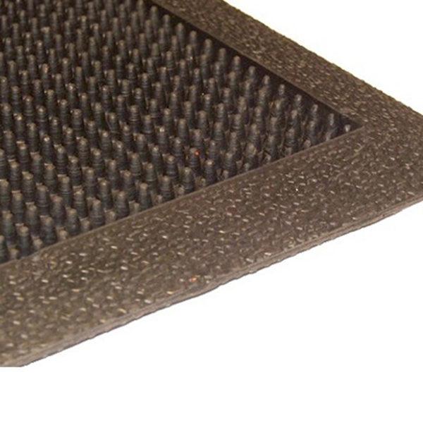 Грезезащитный резиновый коврик Фингертип 1200х800×12 мм
