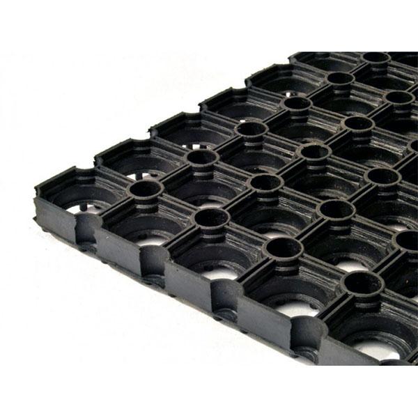 Резиновый коврик Гамми 800х1200х22 мм черный