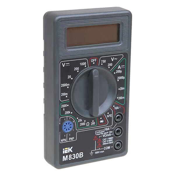 Мультиметр IEK Universal M830B цифровой