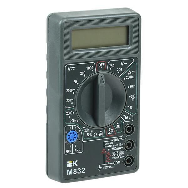 Мультиметр IEK Universal M832 цифровой