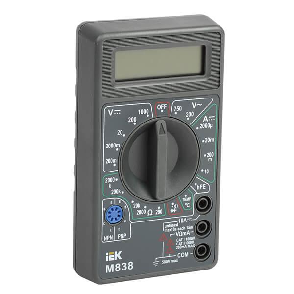 Мультиметр IEK Universal M838 цифровой