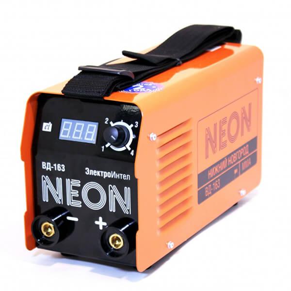 Инвертор MMA Neon ВД-163 (220 В) комплект
