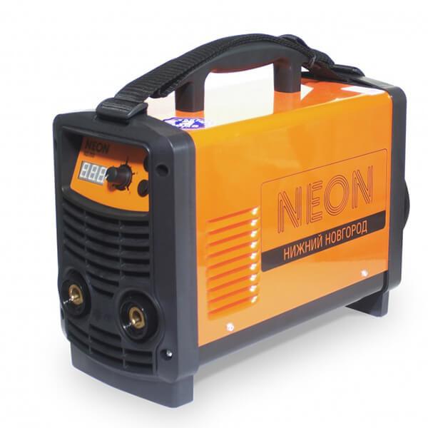 Инвертор MMA Neon ВД-203 (220 В) комплект, аттестат НАКС