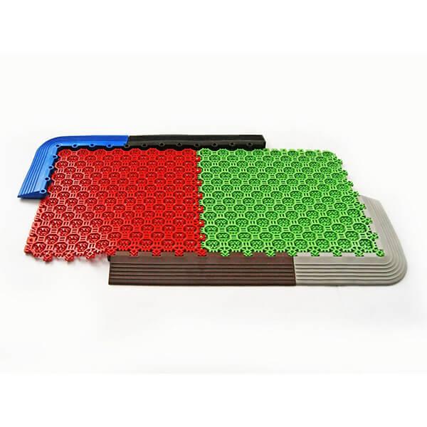 Грязезащитные модульные напольные ПВХ-покрытия Optima Duos 250x250x16