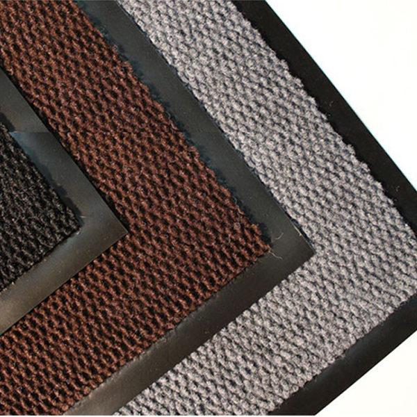 Грязезащитный ворсовый коврик Флап 800х1200 мм серый