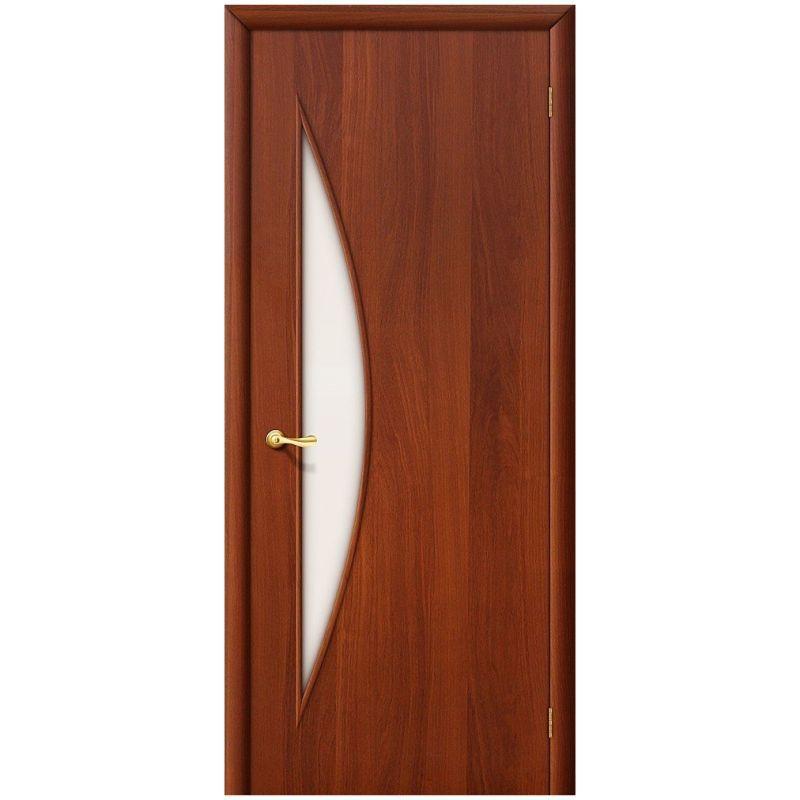 Межкомнатная дверь 5С, Л-11 (ИталОрех), Сатинато
