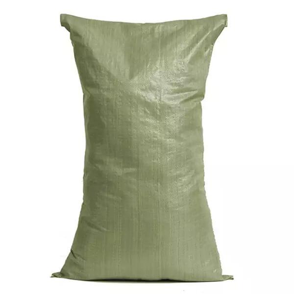 Мешки ПП на 25-30 кг, 45х75 см, 2С зеленый