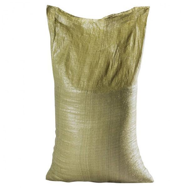 Мешок для мусора полипропиленовый на 40-50 кг, 55х105 см, 2С зеленый, 1000 шт