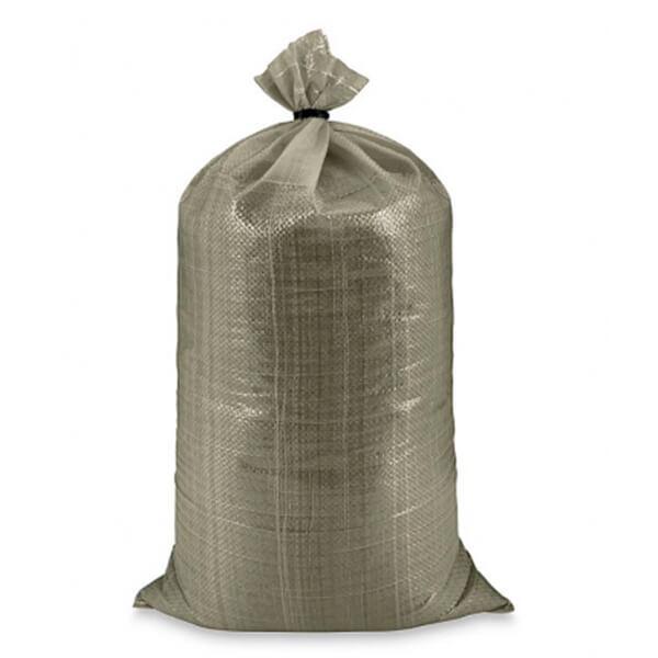 Мешок для мусора полипропиленовый на 40-50 кг, 55х105 см, 2С серый, 1000 шт