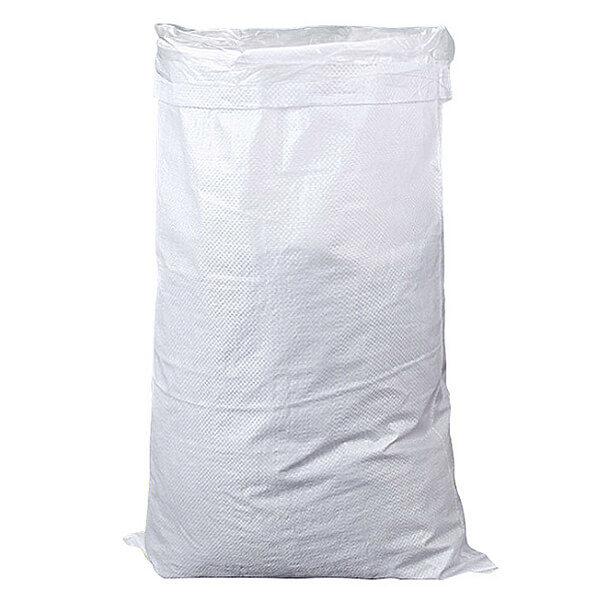 Мешок для мусора полипропиленовый на 40-50 кг, 55х105 см, 1С белый