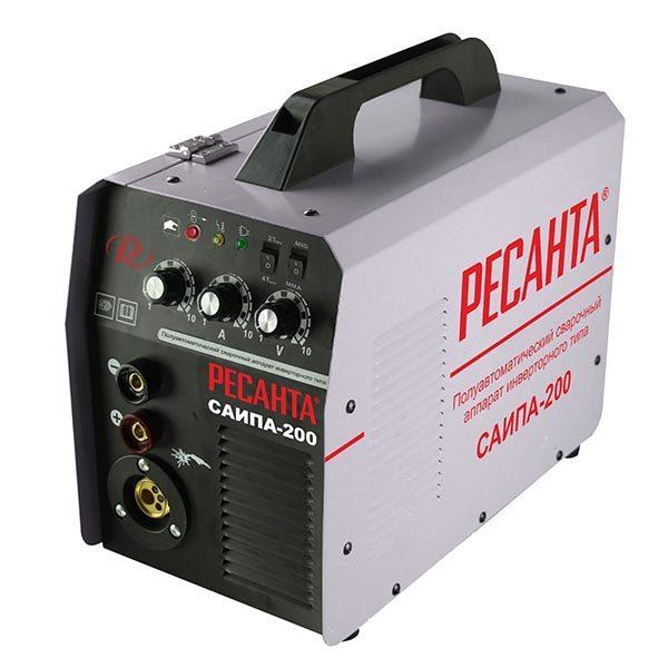 Полуавтомат-инвертор Ресанта САИПА-200 (220 В)