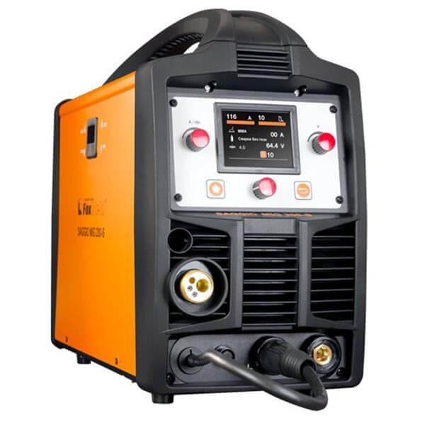 Полуавтомат-инвертор Foxweld Saggio MIG 200S (220 В) с горелкой