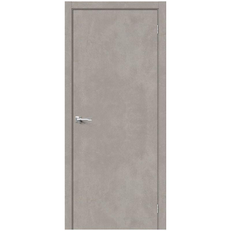 Межкомнатная дверь Браво-0, Gris Beton
