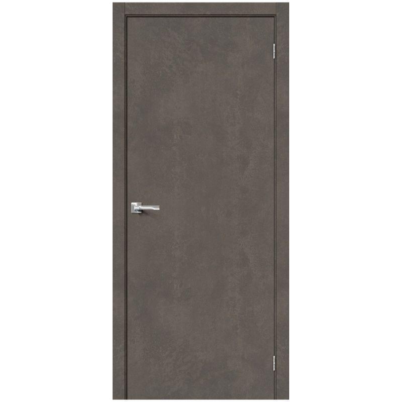 Межкомнатная дверь Браво-0, Brut Beton
