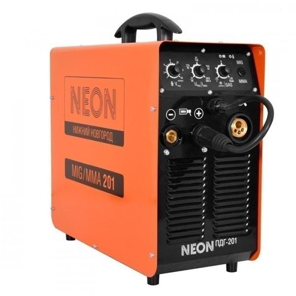 Полуавтомат-инвертор Neon ПДГ-201 (220 В) с горелкой