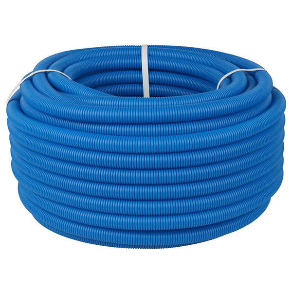 Труба защитная двустенная 110 мм, синий
