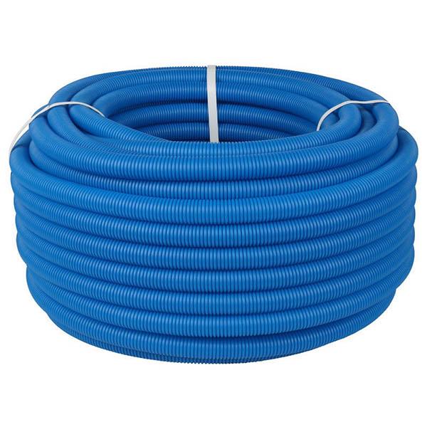 Труба защитная двустенная 200 мм, синий